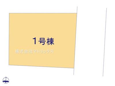 【区画図】❖のどかな住環境♪中板橋エリア☆充実設備の3階建☆居住快適性&生活利便性 良好の限定1棟❖