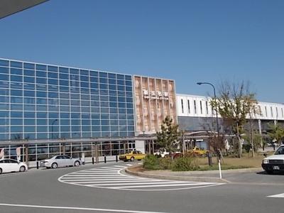 新玉名駅まで1300m