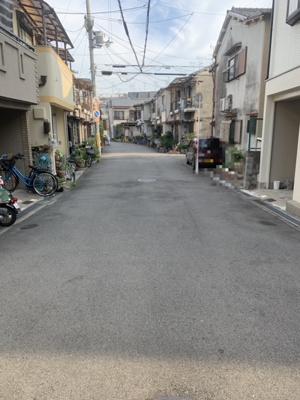 【前面道路含む現地写真】大阪府高柳7丁目中古物件