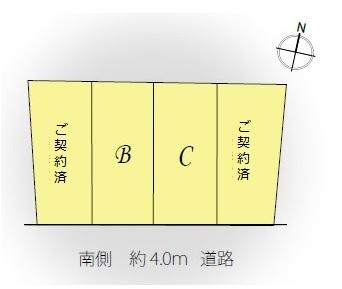 【区画図】Lieu Komforta  南長崎 Ⅴ C号棟