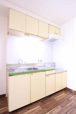 【キッチン】グリーン北塩屋