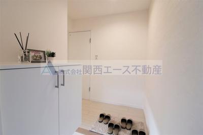 【玄関】ライオンズマンション天王寺