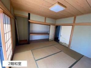 2階和室です