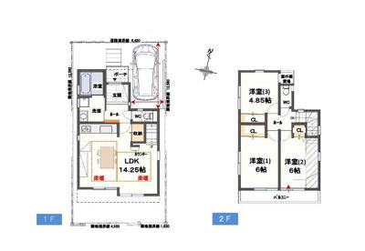 神戸市垂水区青山台3丁目 新築一戸建て