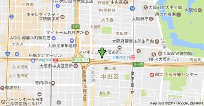 【地図】セレニテ谷町クロワ