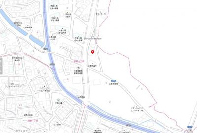 【地図】西野21-1期 新築戸建