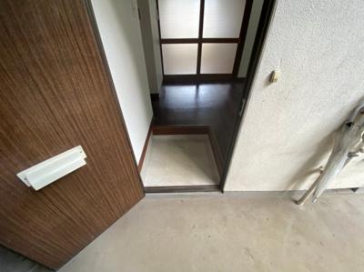 【玄関】高石コーポ