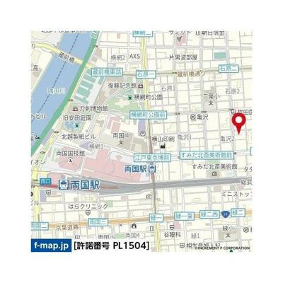 【地図】リヴシティ両国四番館