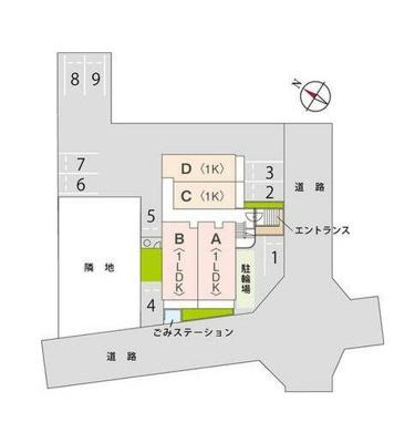 【区画図】ロン・ラヴァン