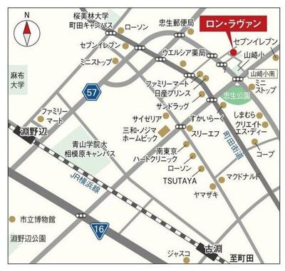 【地図】ロン・ラヴァン