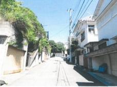 【前面道路含む現地写真】神戸市垂水区塩屋台2丁目 土地