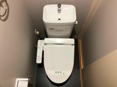 きれいな温水洗浄トイレ☆