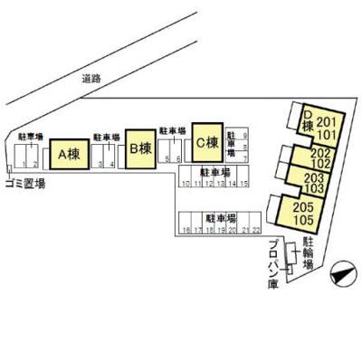 【駐車場】太田駅 東矢島町 203