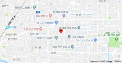 【地図】ヴェルデ高御座 (株)Roots