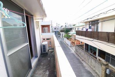 【バルコニー】玉城(タマシロ)アパート