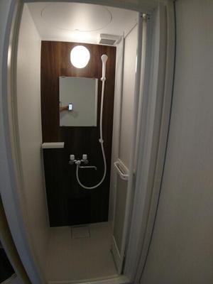 シャワーを浴びることができます