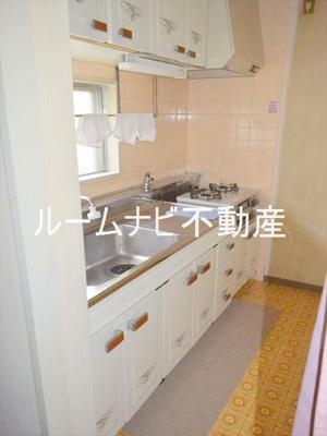 【キッチン】コープ野村志村三丁目