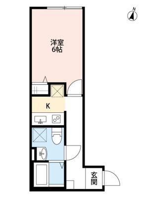 【寝室】ミライエ亀有(ミライエカメアリ)