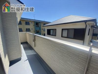 【バルコニー】神戸市西区持子1丁目 新築戸建
