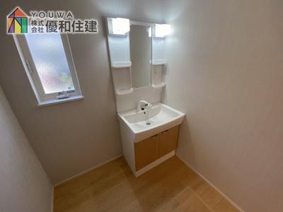 【独立洗面台】神戸市西区持子1丁目 新築戸建