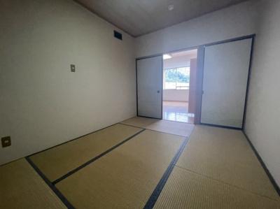 和室6帖です。
