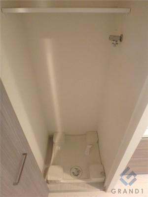 洗濯機はもちろん室内(^^♪