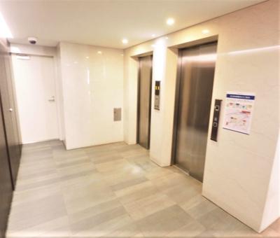 エレベーター2基です。