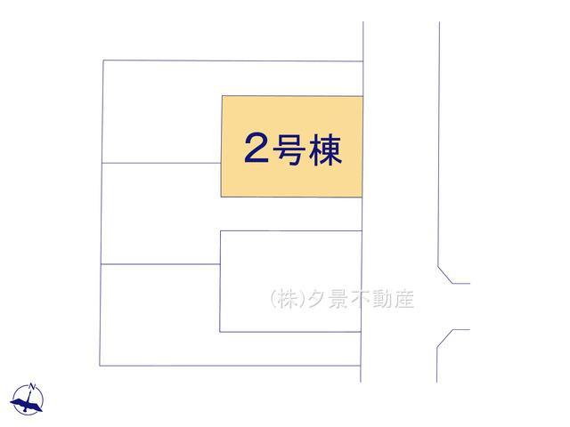 【区画図】戸田市笹目3丁目19-8(2号棟)新築一戸建てグラファーレ