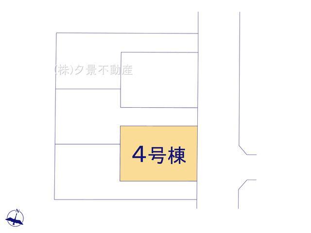 【区画図】戸田市笹目3丁目19-8(4号棟)新築一戸建てグラファーレ