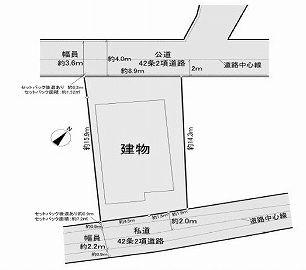 【区画図】大田区山王3丁目 中古戸建