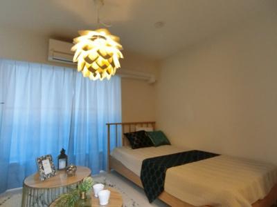 室内家具はモロッカン風の家具付マンションです。