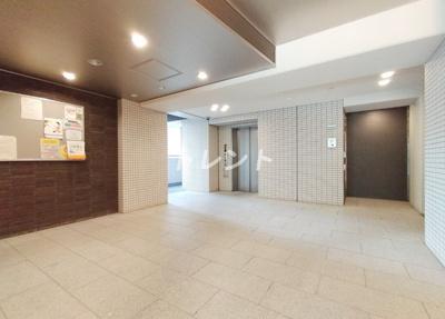 【ロビー】アイスイート東中野【i-Suite HigashiNakano】