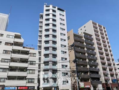 ジェノヴィア新宿早稲田グリーンヴェールの外観です