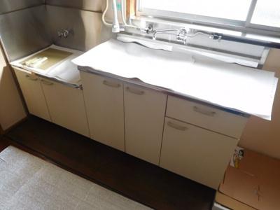 【キッチン】クリーンハイツ