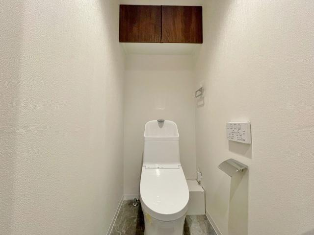 トイレは2か所ございます 忙しい朝になど便利です