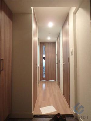 【玄関】プレサンスタワー北浜