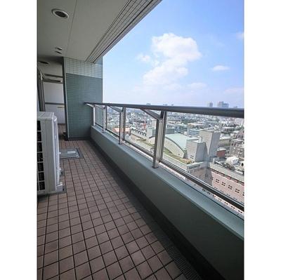 【バルコニー】シティタワー高輪