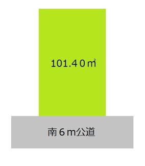 【土地図】横浜市鶴見区向井町3丁目 売地