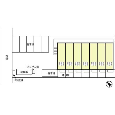 【区画図】プルミエコート