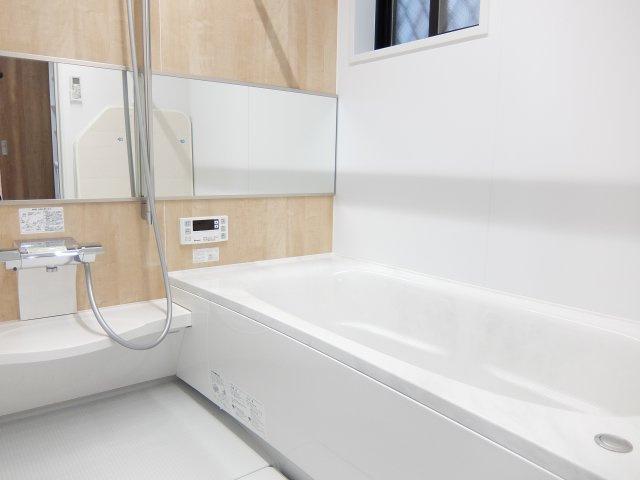 【浴室】摂津市鶴野4丁目 新築一戸建 ★全3区画★自由設計