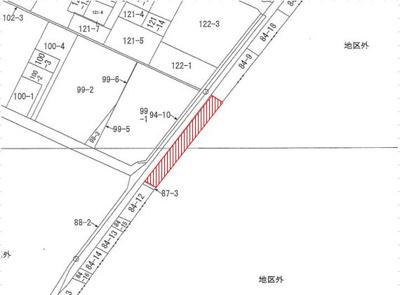 【区画図】沖縄市大里売地
