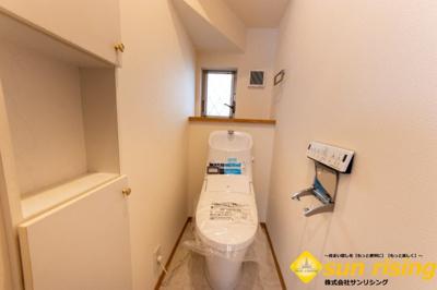 【トイレ】東大和市南街1丁目 中古戸建