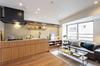ユナイテッドアローズ社プロデュース!デザイン性に加えて、収納豊富で機能性も高いお部屋です。
