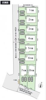 【区画図】高知市長浜