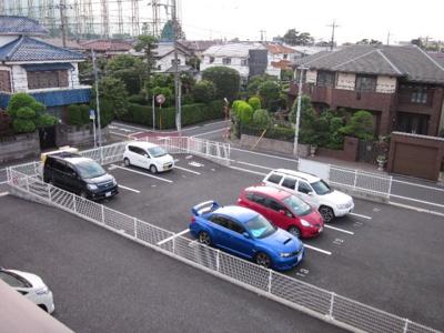 駐車場の空きはご確認下さい