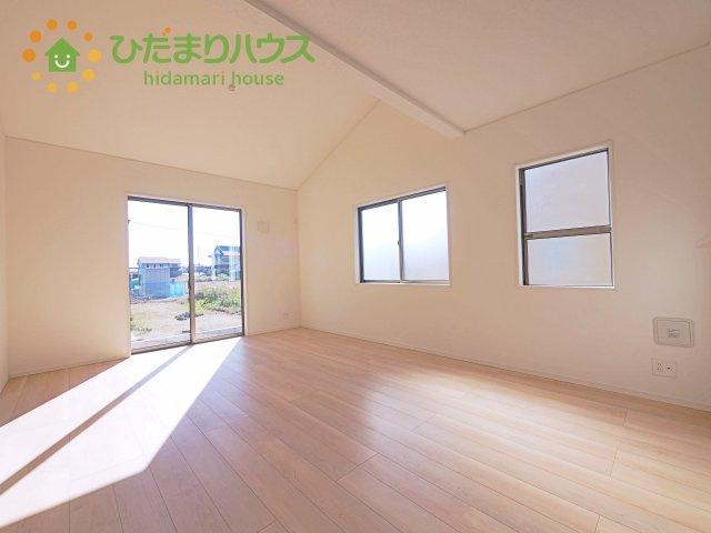【前面道路含む現地写真】鹿嶋市平井第4 新築戸建 1号棟