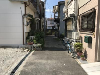 【前面道路含む現地写真】神戸市兵庫区浜山通4丁目売り土地