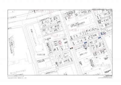【地図】神戸市兵庫区浜山通4丁目売り土地