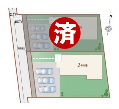 2号棟 区画図