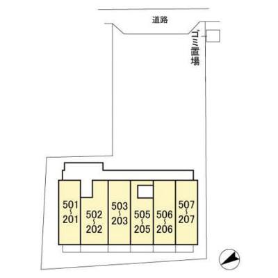 【区画図】ロイヤルグレース道
